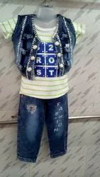Casual Wear,Party Wear Baby Girl Pant Top Set, 6-12 Year