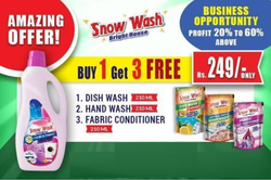 Snow Wash Fabric Conditioner Set