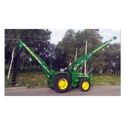 Post Hole Digger Tractor