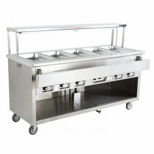 Fast Food Service Counter