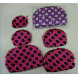 Cotton Fabric Regular 5 Piece Purse Set