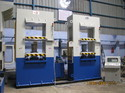 Santec Double Station Compression Molding Press, Capacity: 225 Tons