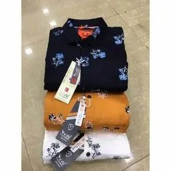 Mens Floral Print Partywear Shirts