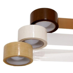 White And Brown BOPP Tape