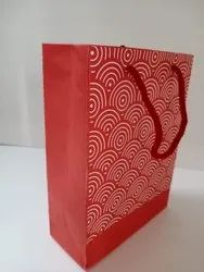 Gift red paper bag