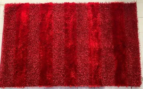 Polyester Hand Woven Panja Rugs