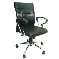 NF-118 Scroll Medium Back Chair