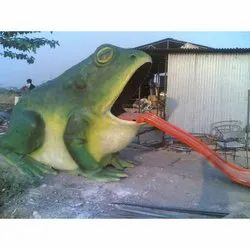 FRP Giant Frog Statue