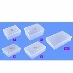 Hariware Plastic Transparent Boxes Coxy (70, 71, 270, 271, Khokha No 2