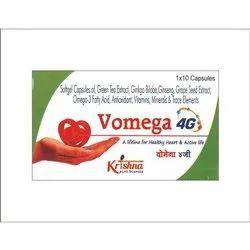 Vomega 4 G Soft Gel  Capsule