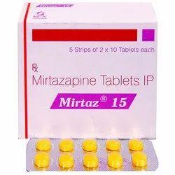 15 mg Mirtazapine Tablets