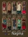 Nagma Voli-1 Heavy Rayon With Gold Printed Kurti With Sharara Premium Collection