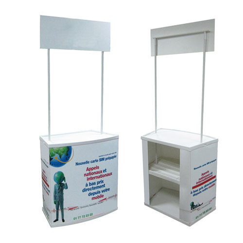 Flex And Aluminium Promotional Portable Table