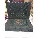 Grey Kantha Saree, 5.5 M (separate Blouse Piece)
