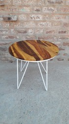 Antique 1 Metal and Wood Table for Cafe/Hotel/Restaurant Furniture