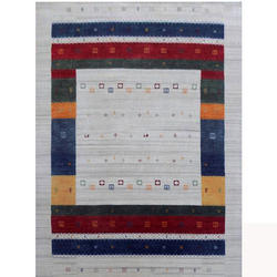Floor Rug Handloom Gabbeh In Multi Color