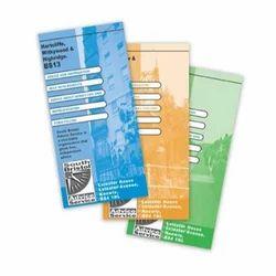 Multicolor Art Paper Promotional Leaflets