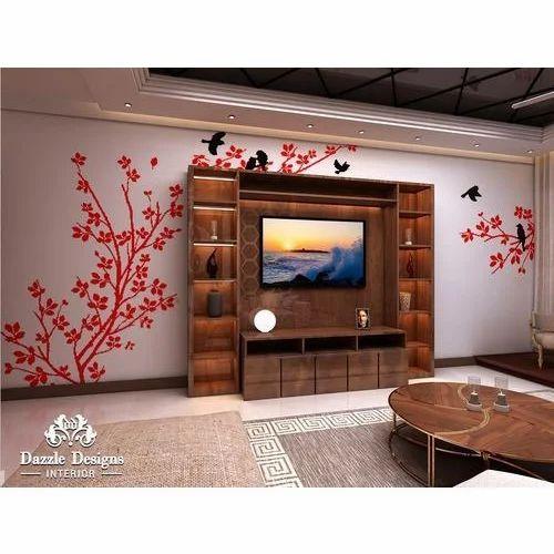 Home Interior Decoration Service - Drawing Room Interior