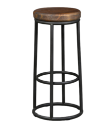 Industrial Round Cafe & Bar Stool