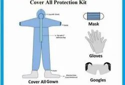 DISPOSABLE PPE COVERALL KIT