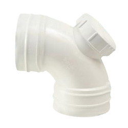 White UPVC Sweep Bend for Structure Pipe