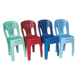 Plastic High Back Chair