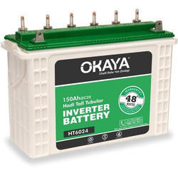 Okaya Tall Tubular Battery, Capacity: 150 Ah, Voltage: 12 V