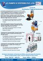 High Pressure Pump Disinfection Tunnel