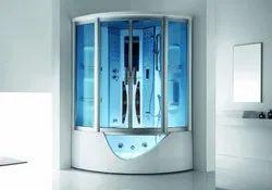 Steam Cabin With Massage Tub