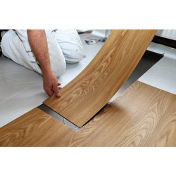 Brown PVC Flooring Service