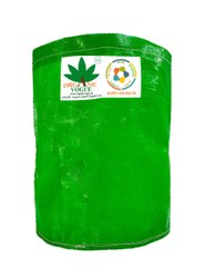 Organic Vogue 350 Gsm 1st Quality Round Grow Bag, Green White