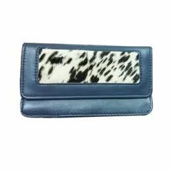 Leather Printed Ladies Clutches