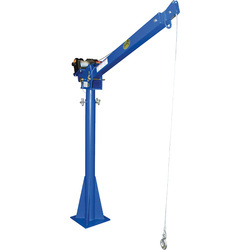 Revolving Arm Floor Crane