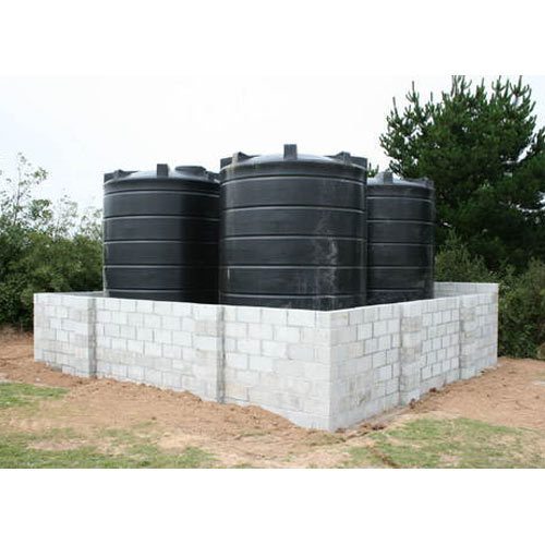 Plastic Black Water Storage Tanks, Storage Capacity: 1000L