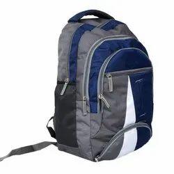 涤纶蓝,灰色男生学院袋