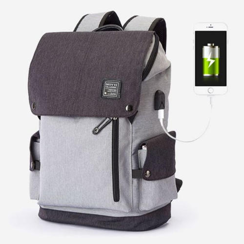 Backpack With USB Charging Point Bag