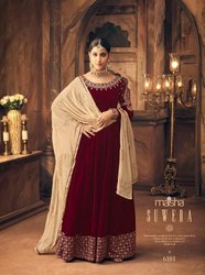Velvet Gowns