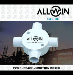 Allwin Electric PVC Surface Junction Box