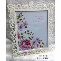 White Plastic Frame 8-10