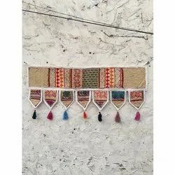 Decorative Indian Vintage Hand Embroidered Patchwork Toran Home Decor