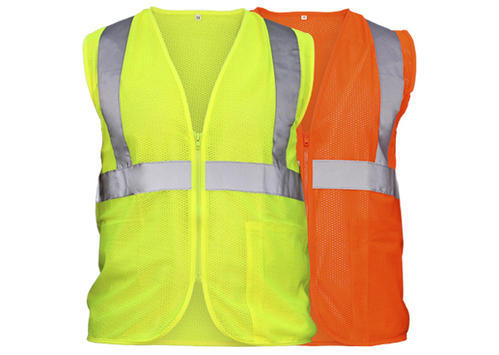 Safety Security Visibility Reflective Vest Construction Traffic//Warehouse B