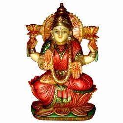 Resin Culture Marble Laxmi Statue