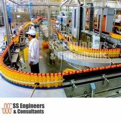 Automatic Fruit Juice Processing Plant Automation