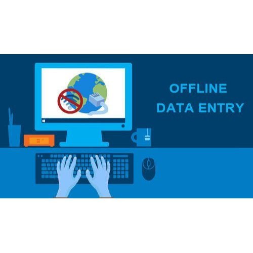 Offline Data Entry Work Services