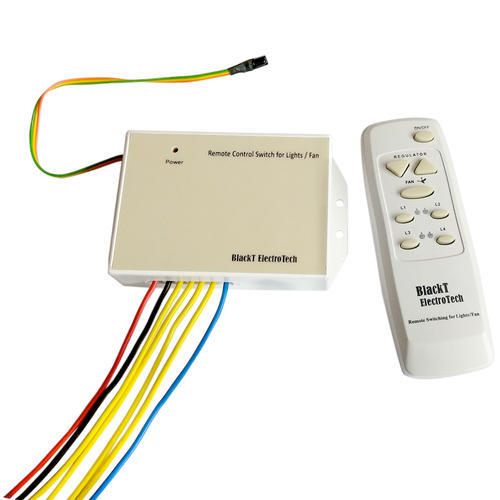 Product Image Updated Remote Switch For 4 Lights 1 Fan