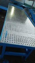 Rubber Mould Designer Tiles Making Machine