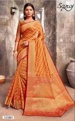 Designer Ethnic Rapier Silk Saree