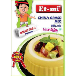 Vanilla Instant China Grass Mix Milk Jelly, Packaging Type: Packet, Packaging Size: 100g
