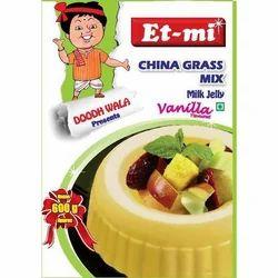 Vanilla Instant China Grass Mix Milk Jelly