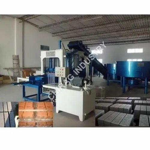 CI 320 Semi Automatic Fly Ash Brick Making Machine